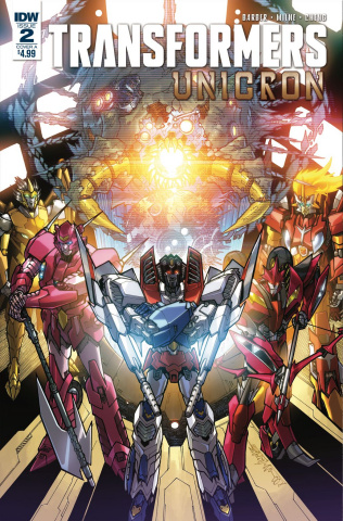The Transformers: Unicron #2 (Milne Cover)