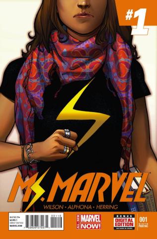 Ms. Marvel #1 (6th Printing)