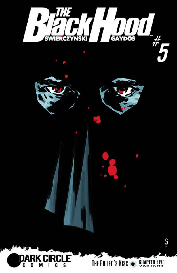 The Black Hood #5 (Smith Cover)