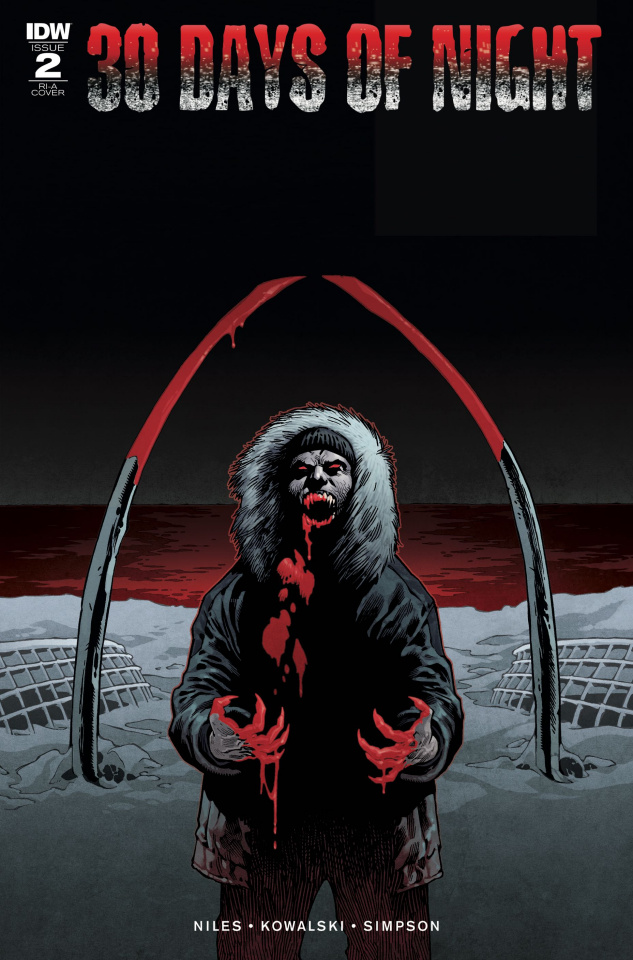 30 Days of Night #2 (10 Copy Cover)
