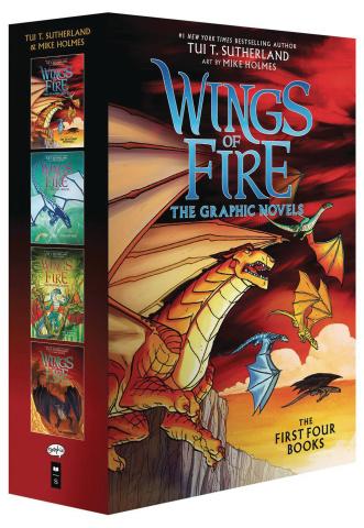 Wings of Fire Vols 1-4 (Box Set)
