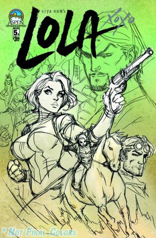 Lola XOXO #5 (Direct Market Cover)