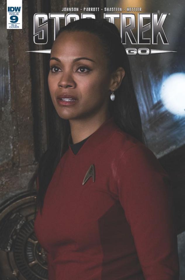 Star Trek: Boldly Go #9 (10 Copy Cover)