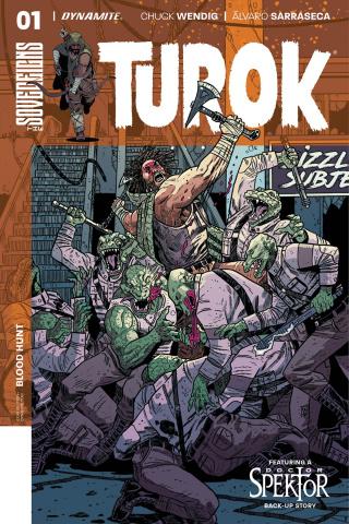 Turok #1 (Belanger Cover)