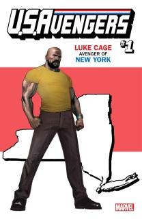 U.S.Avengers #1 (Reis New York State Cover)