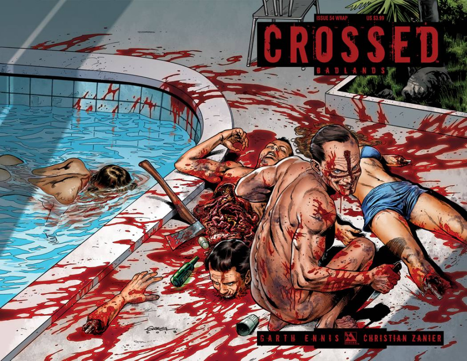 Crossed: Badlands #54 (Wrap Cover)