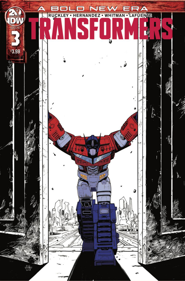 The Transformers #3 (2nd Printing)