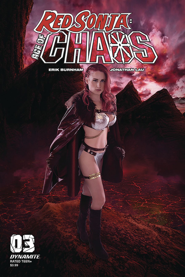 Red Sonja: Age of Chaos #3 (Kingston Cosplay Cover)