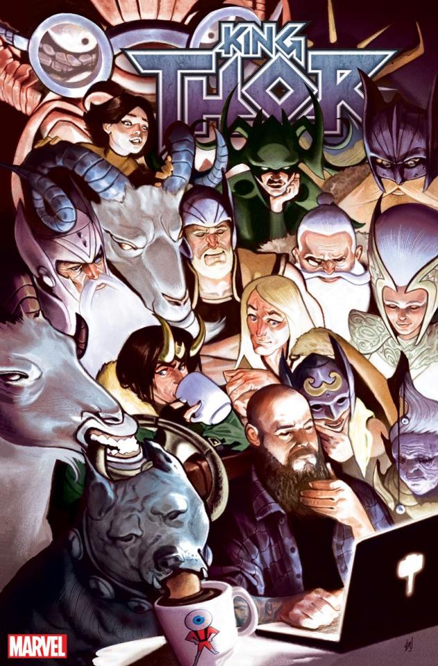King Thor #4 (Del Mundo Cover)