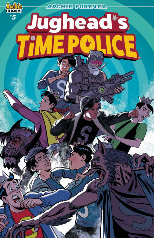 Jughead's Time Police #5 (Smallwood Cover)