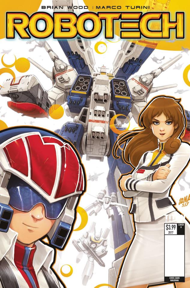 Robotech #3 (Nakayama Cover)
