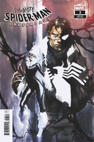 Symbiote Spider-Man: Crossroads #3 (Parel Cover)