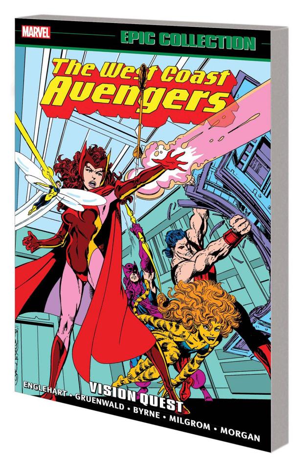Avengers West Coast: Vision Quest (Epic Collection)