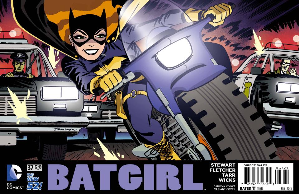 Batgirl #37 (Darwyn Cooke Cover)