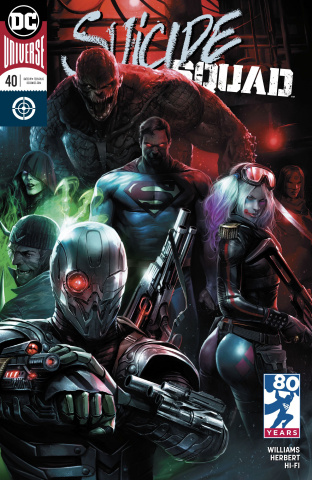 Suicide Squad #40 (Variant Cover)