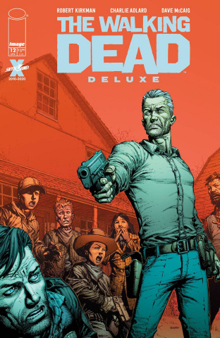 The Walking Dead Deluxe #12 (Finch & McCaig Cover)