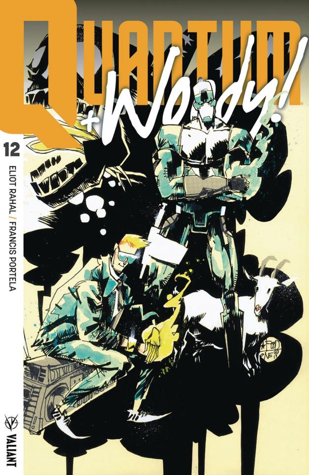 Quantum & Woody #12 (20 Copy Interlocking Cover)