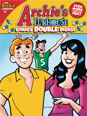 Archie's Funhouse Comics Double Digest #25