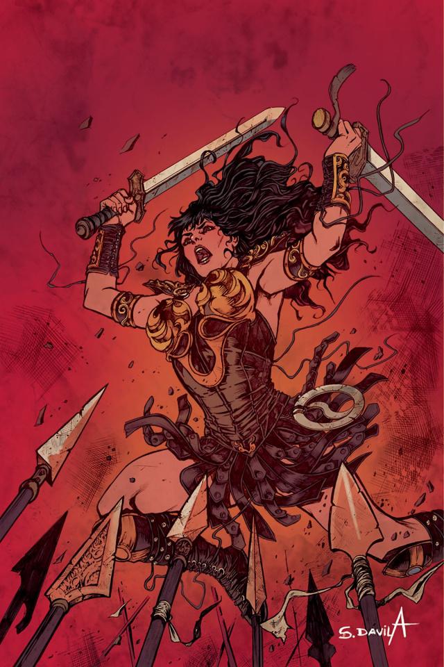 Xena #6 (10 Copy Davila Virgin Cover)