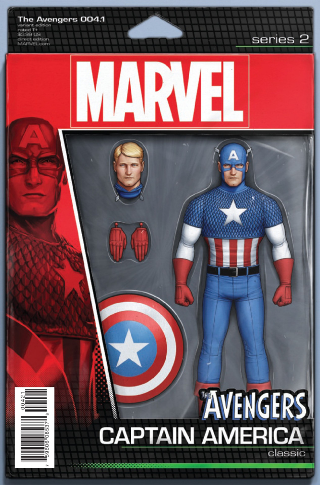 Avengers #4.1 (Christopher Action Figure Cover)