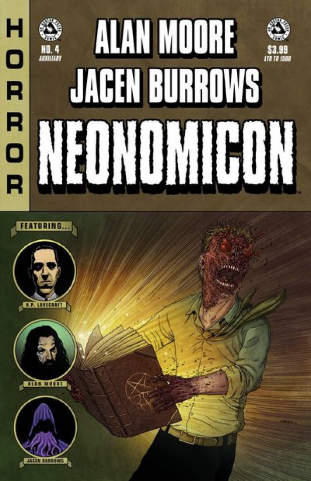 Alan Moore's Neonomicon #4 (Auxiliary Edition)