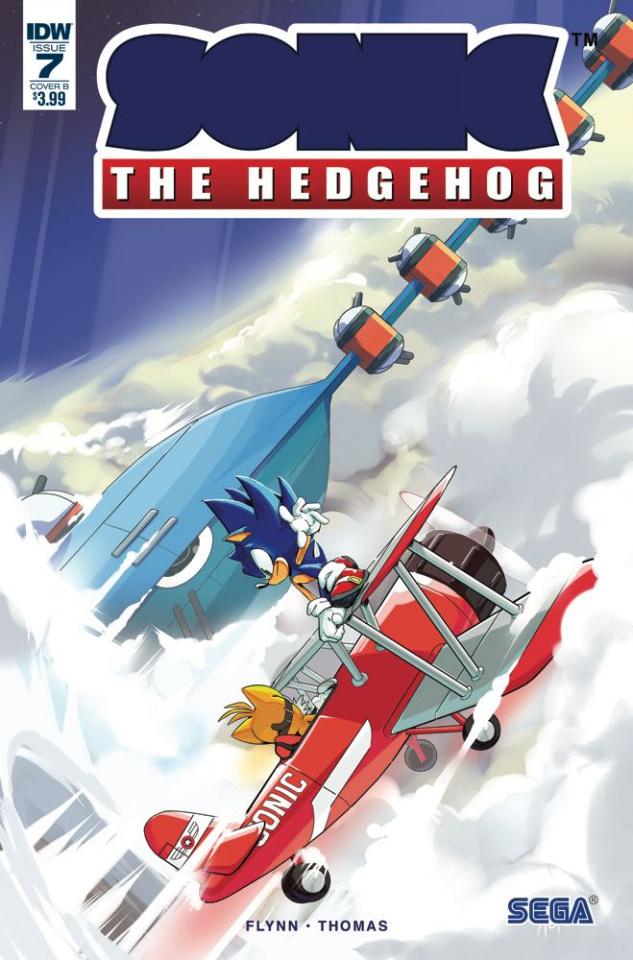 Sonic the Hedgehog #7 (Thomas Cover)