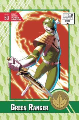 Mighty Morphin' Power Rangers #50 (25 Copy Anka Cover)
