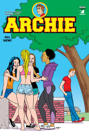 Archie #4 (Hernandez Cover)