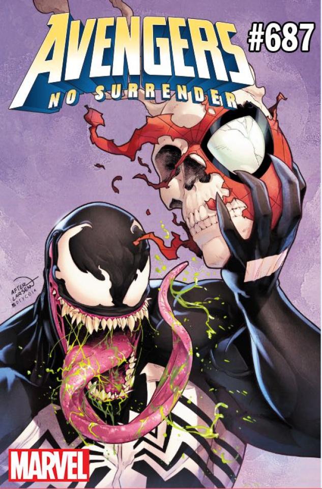 Avengers #687 (Campbell Venom Cover)