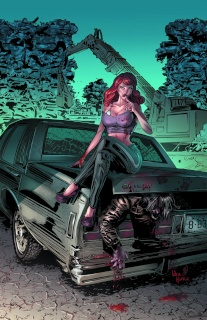 Grimm Fairy Tales: Grimm Tales of Terror #1 (Huffor Cover)