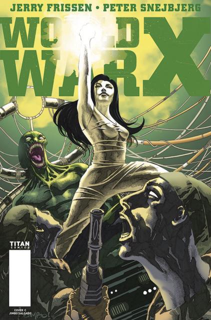 World War X #4 (Salgado Cover)