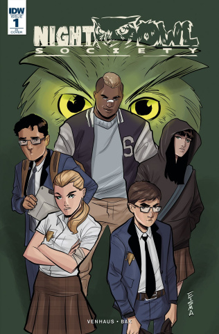 Night Owl Society #1 (10 Copy Cover)