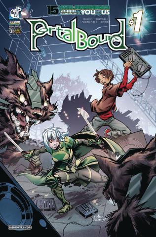 Portal Bound #1 (Archer Cover)