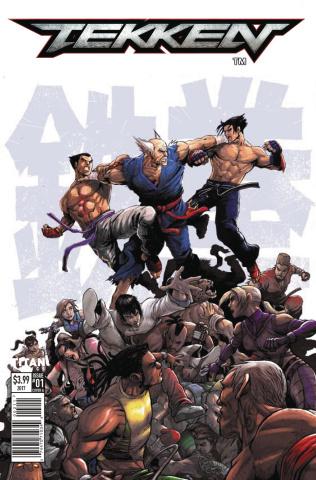 Tekken #1 (Tong Cover)