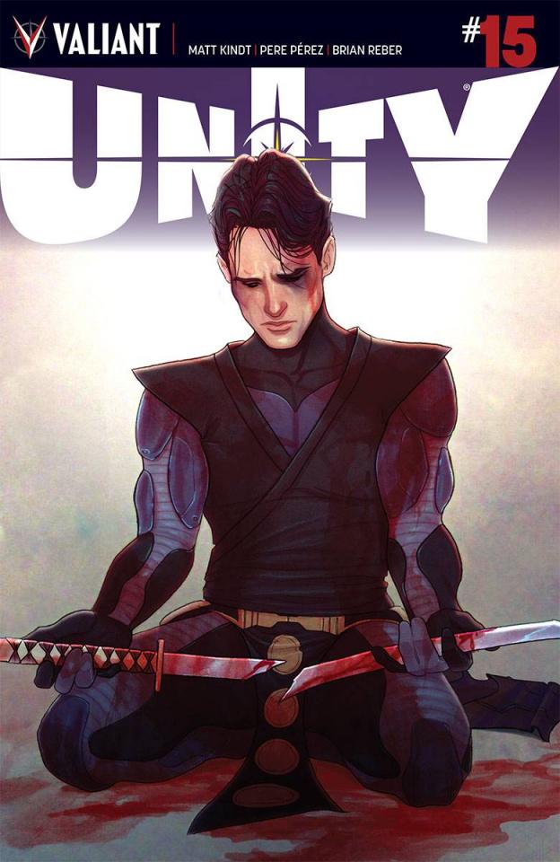 Unity #15 (Frison Cover)