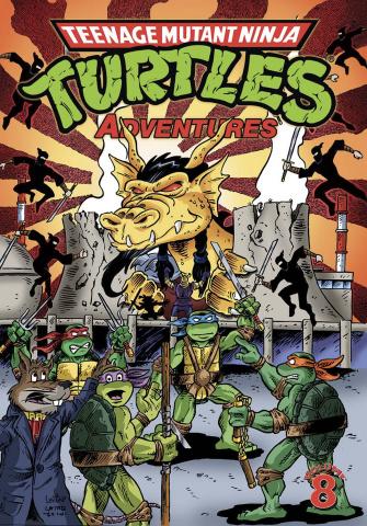 Teenage Mutant Ninja Turtles Adventures Vol. 8