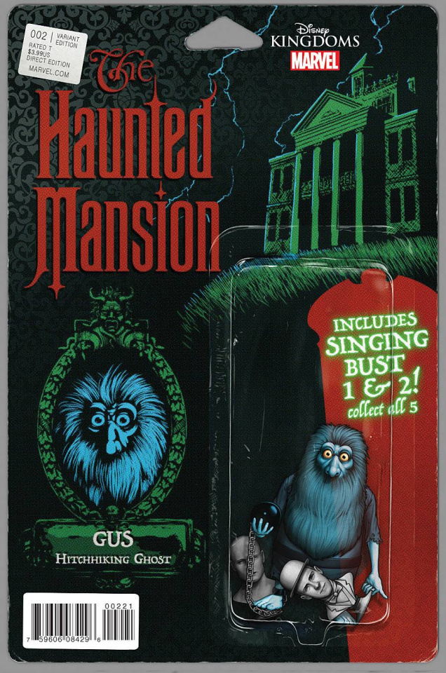 The Haunted Mansion #2 (Crosby Cover)