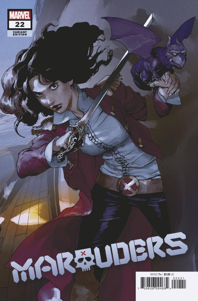 Marauders #22 (Parel Cover)
