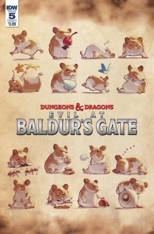 Dungeons & Dragons: Evil At Baldur's Gate #5 (Dunbar Cover)