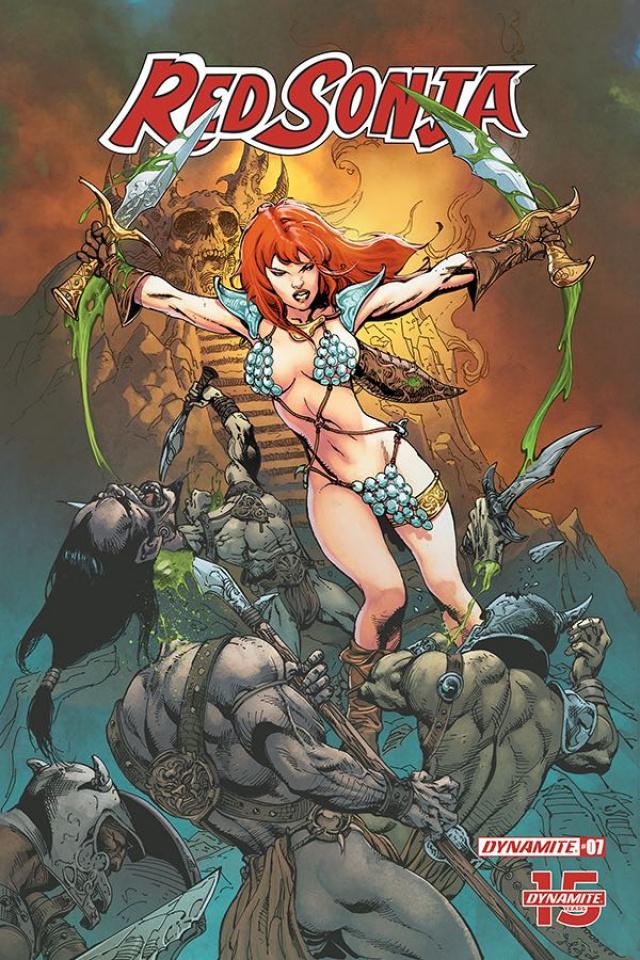 Red Sonja #7 (5 Copy Castro Cover)