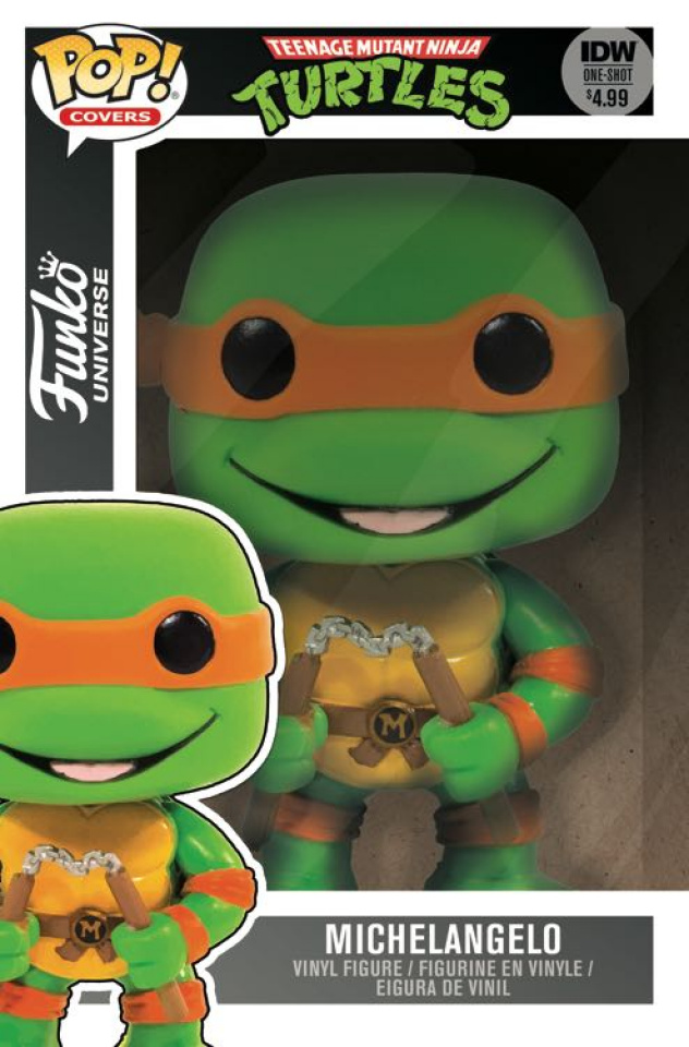 Teenage Mutant Ninja Turtles: Funko Universe (Funko Toy Cover)
