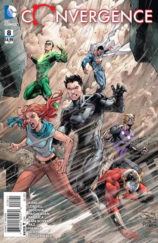 Convergence #8 (Tony S. Daniel Cover)