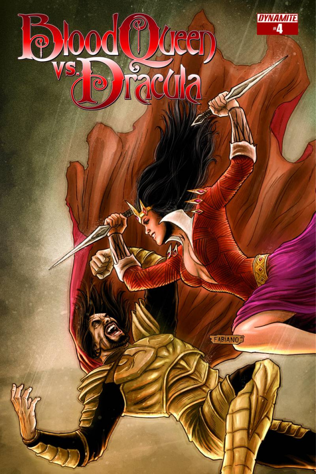 Blood Queen vs. Dracula #4 (Subscription Cover)