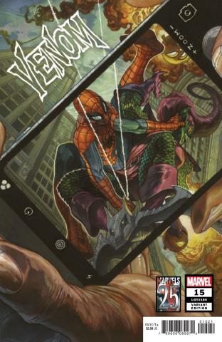 Venom #15 (Bianchi Marvels 25th Anniversary Tribute)