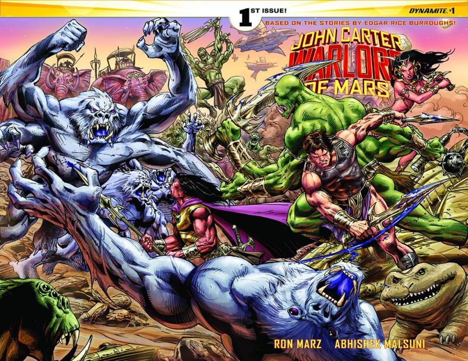 John Carter: Warlord of Mars #1 (Rare Castro Wraparound Cover)