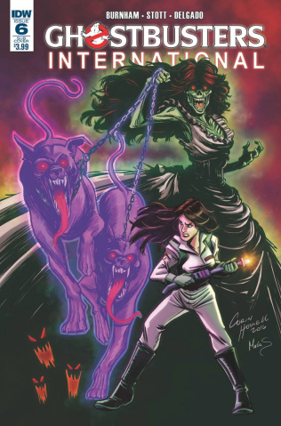 Ghostbusters International #6 (Subscription Cover)