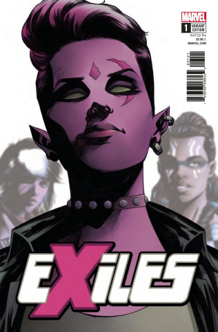 Exiles #1 (McKone Character Cover)