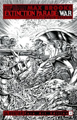 The Extinction Parade: War #4 (Pure Art Cover)