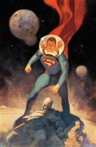 Action Comics #1037 (Julian Totino Tedesco Card Stock Cover)