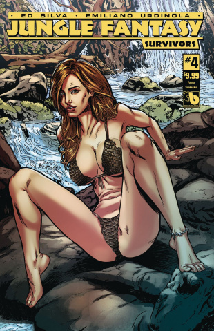 Jungle Fantasy: Survivors #4 (Fauna Snakeskin Cover)